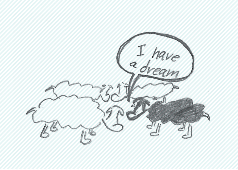 צייר לי כבשה יש לי חלום
