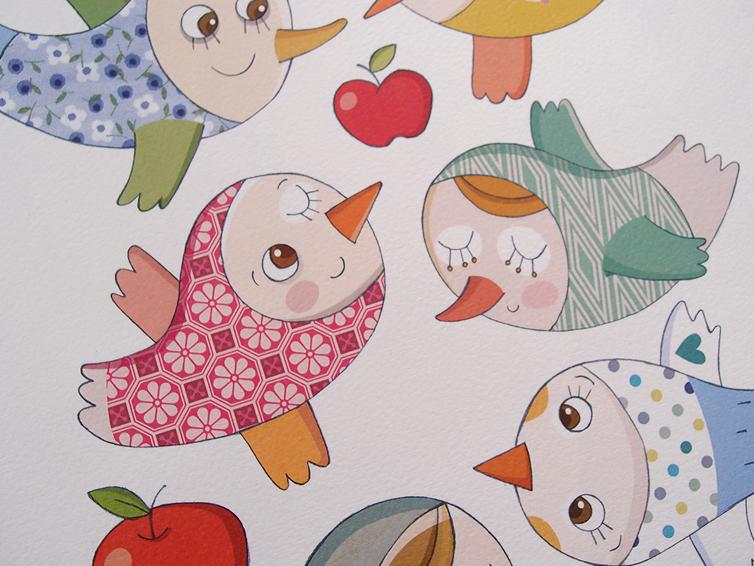 אורי רייזנר ציפורים מנייר