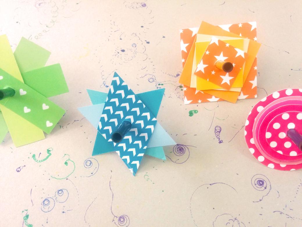 Tiny Scribbles סביבוני נייר מעוצבים להרכבה עצמית