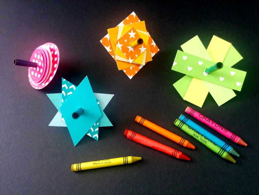 סביבוני נייר להרכבה עצמית טייני סקריבלס | tiny scribbles