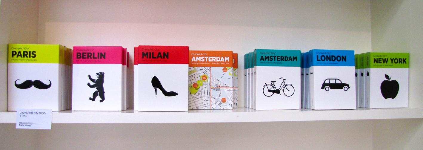 אריזה למפות | Droog | אמסטרדם | הגר אשחר ניר