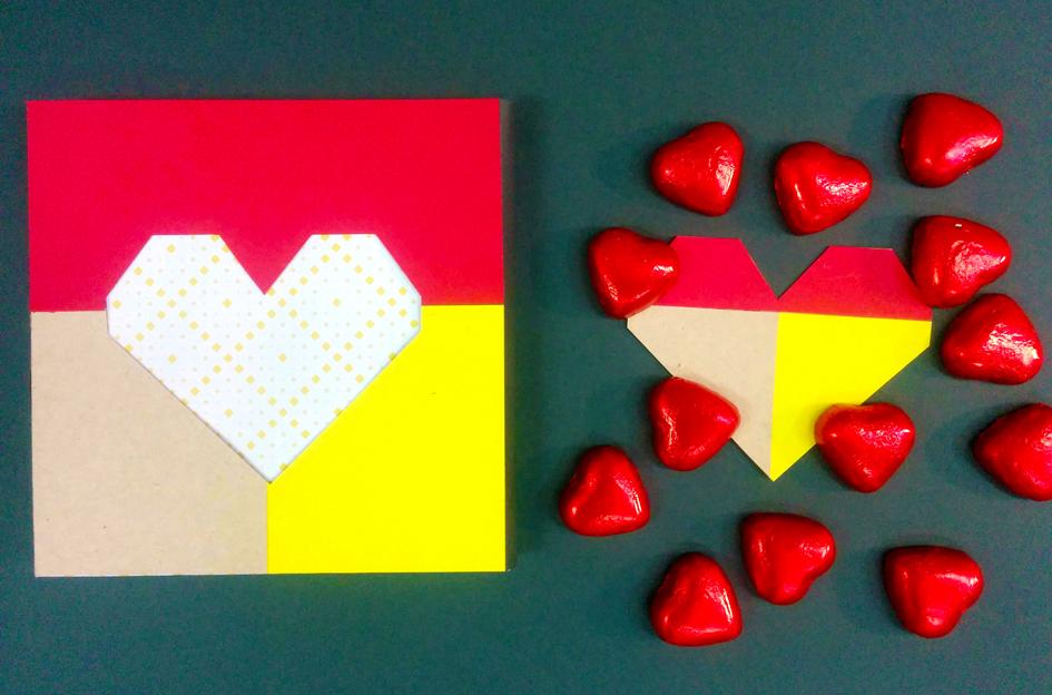 אריזת חלון לב צבעונית | onscribbling | הגר אשחר ניר