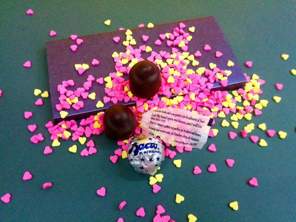 שוקולד באצ'י | איך אורזים נשיקה | onscribbling | הגר אשחר ניר