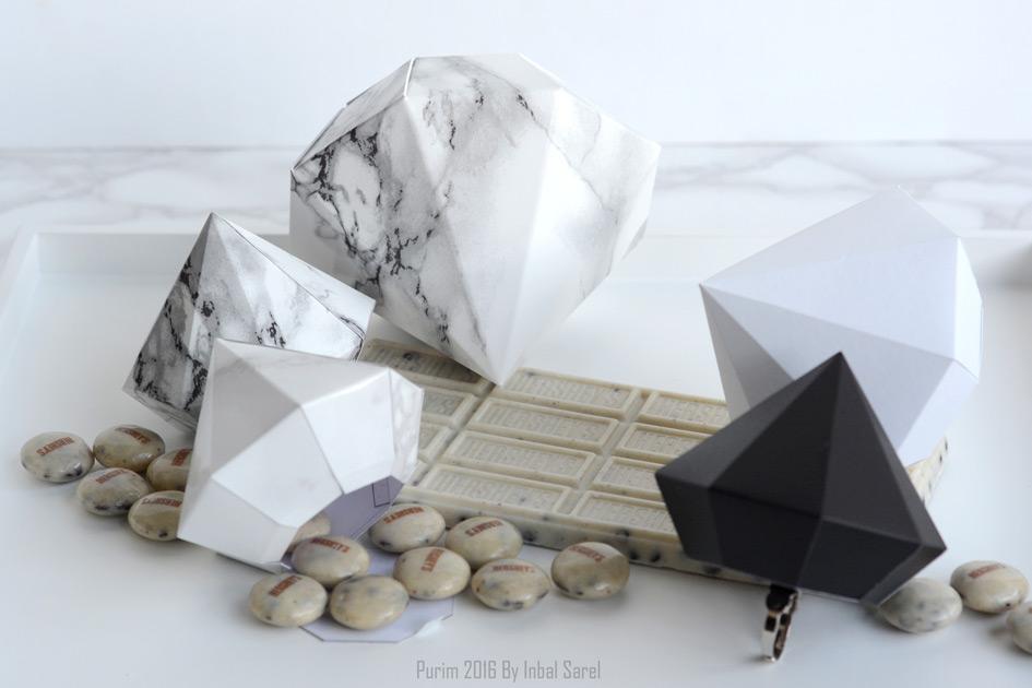 מעצבות משלוחי מנות | onscribbling | ענבל שראל | משלוח מנות יהלומים