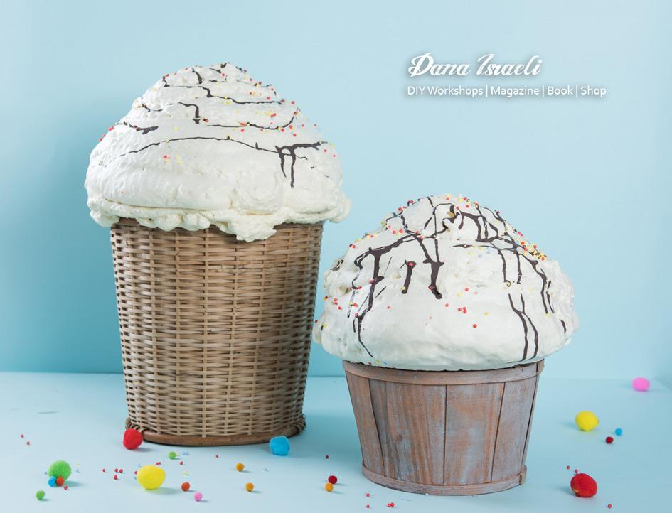 מעצבות משלוחי מנות | onscribbling | דנה ישראלי | משלוח מנות גלידה