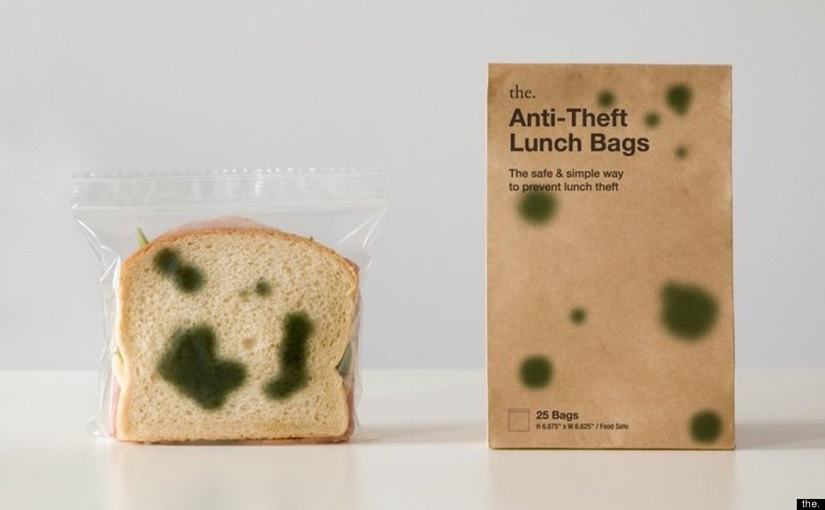 Anti-Theft Lunch Bags | Sherwood and Mihoko | אריזות הומוריסטיות | onscribbling